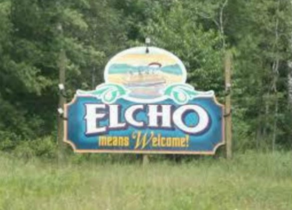 Town of Elcho Welcome Sign