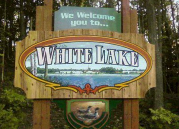 Photo of White Lake Welcome Sign