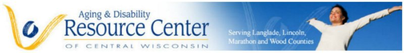 Aging & Disability Resource Center of Central Wisconsin Banner