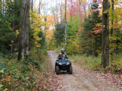 Photo of ATV on Trails