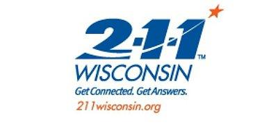 2-1-1 Wisconsin Logo